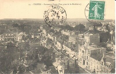 Carte Postale - (10) Aube - Troyes - Panorama Ouest