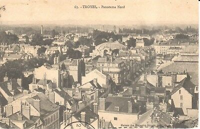 Carte Postale - (10) Aube - Troyes - Panorama Nord