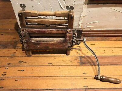 Laundry wringer Mangle antique washing machine