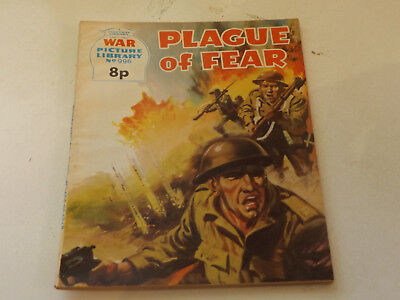 WAR PICTURE LIBRARY NO 996!,dated 1974!,GOOD for age,great 44!YEAR OLD issue.