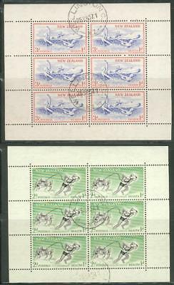New Zealand mini sheet Michel Nr. 371-372 o used eu42