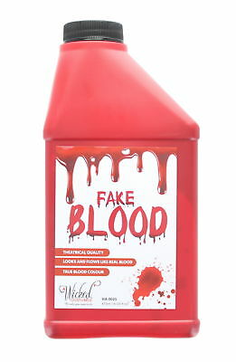 Wicked Costumes Theatrical Fake Blood - Halloween Make Up Accessory - 473 ml