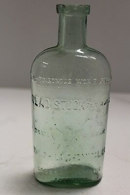 Antique Dead Stuck for Bugs The Phila Chemical Co Bottle
