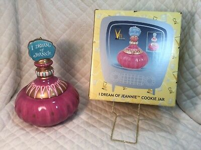 1999 RARE Premiere Edition Numbered~I Dream Of Jeannie ~Cookie Jar ~NEW IN BOX~