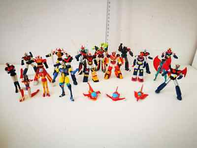 Robot Gashapon Action Figures Mazinga Danguard Daimos Vultus V Combattler