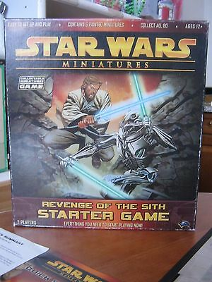Star wars starter game and miniatures pack