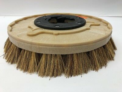 "Carlisle 13"" Union Mix Brush Tuff Block Rotary w/ NP-9200 Assembly A0035"