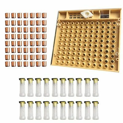 Beekeeping Tools Equipment Set Queen Rearing System Cultivating Box 110pcs T2M3