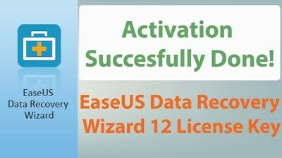 EaseUS Data Recovery Wizard v12.0 Professional - ORIGINAL FULL VERSION 1 PC