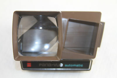 Pana-Vue Automatic Lighted 2x2 Slide Viewer for 35mm   6SIT
