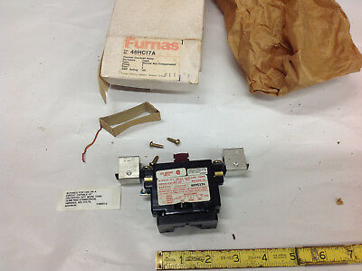 Furnas 48HC17A Overload Relay 1P Size-3 100-Amp.  NEW SURPLUS