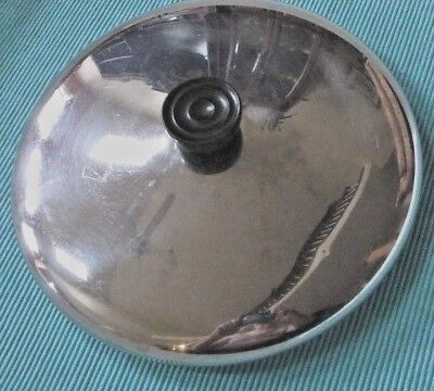 """Classic USED Revere Ware Stainless Steel Lid  for 10"""" diameter pans good conditi"""