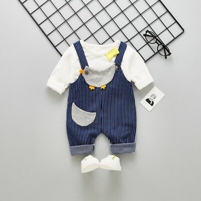 Baby Girls Clothes Clothing Sets Kids Girl Outfits Suits T shirts + Romper Pants