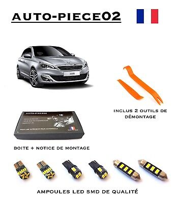 Pack FULL LED intérieur pour Peugeot 308 II ( Version full )