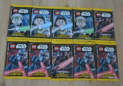 Lego® Star Wars™ Serie 1 Trading Card Game 10 Booster - 50 Karten Neu & OVP