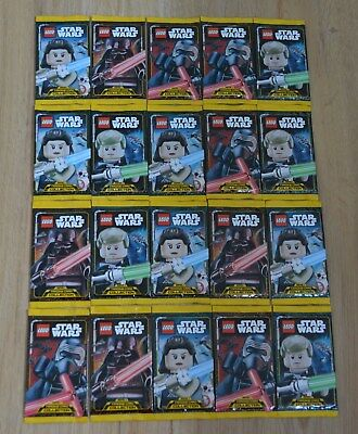 Lego® Star Wars™ Serie 1 Trading Card Game 20 Booster - 100 Karten Neu & OVP