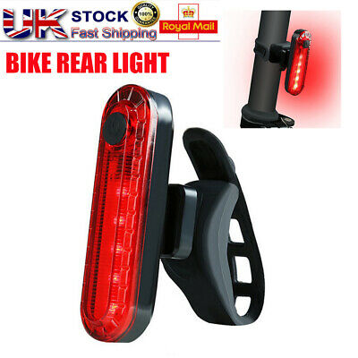 Bike Bicycle Lights USB LED Rechargeable Mountain Front Warning Headlight Lamp