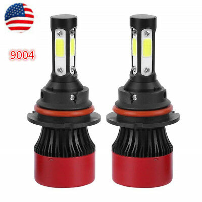 9004 HB1 LED Car Headlight Kit Bulbs Light Lamp High Low Beam 6500K 72W 16000LM