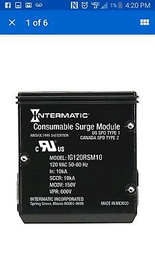 Intermatic Replacement IModule for Smart Guard Whole Home model# IG120RSM10