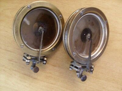 Two (2) Early Mica Soundboxes
