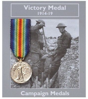 Mini WW1 Victory Medal Decoration Medal World War 1 100 Year Anniversary Gift
