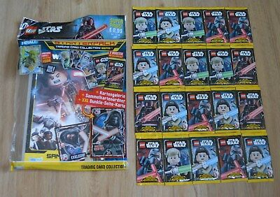 Lego Star Wars™ Serie 1 Figurine Gioco 20 Booster / 100 Mappe: + Starterpack