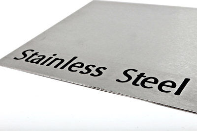 Grade 430 Brushed STAINLESS STEEL Sheet Brushed or Polished 0.9 - 2.0mm 30 Sizes