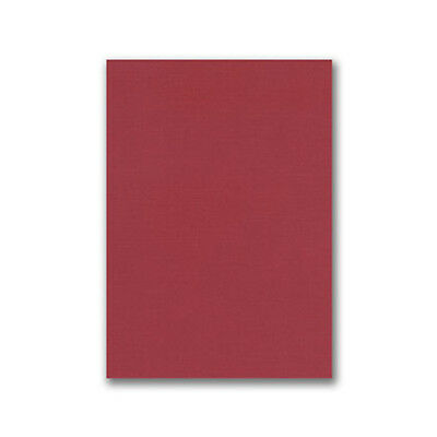 HOP Card Stock - Linen Embossed Red A5 300gsm (20 Pack) HOP109922