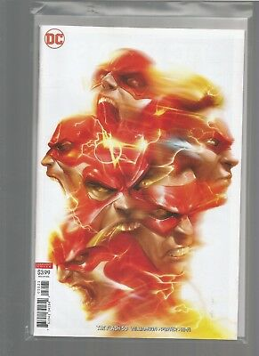 The Flash #50 Mattina Cover Over-sized Anniversary Issue DC NM COMBINE SHIPPING