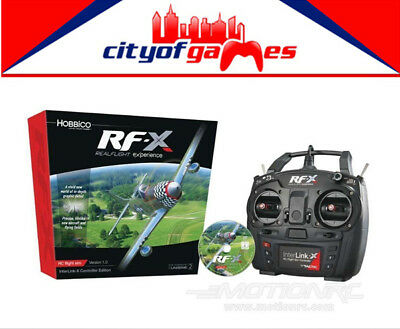 Great Planes RealFlight-X With Interlink-X Brand New