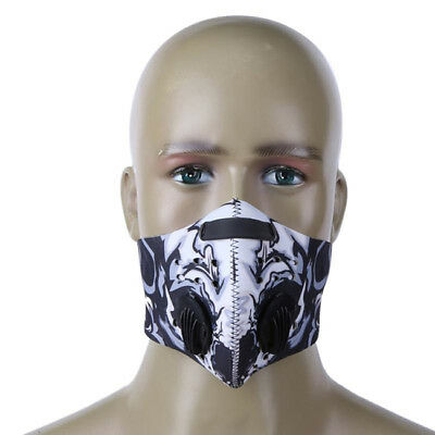 Unisex Anti Dust Mask Anti Pollution Filter Half Face for Outdoor Running LH