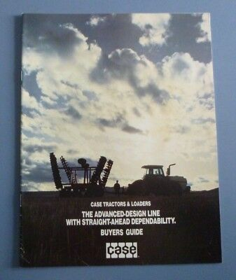Vintage Case Tractors And Loaders Buyers Guide 1984 Nearly Mint