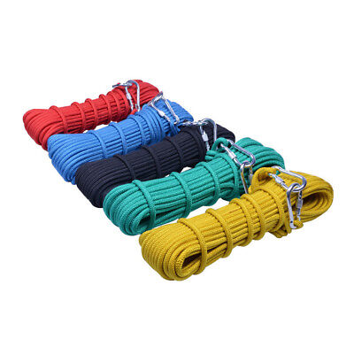 14KN 10mm Outdoor Rock Climbing Tree Arborist Fast Rope Rescue Fire Escape Wire