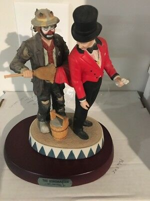 Emmett Kelly Jr The Ring Master #04141 With Base