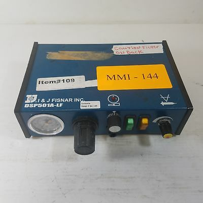 I & J Fisnar DSP501A-LF Fluid Dispensing System with Foot Pedal