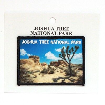 Official Joshua Tree National Park Souvenir Patch California Iron on