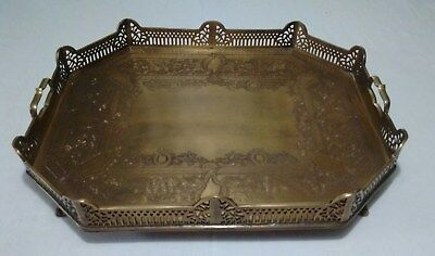 Decorative Crafts Inc Brass Tray Flisol Home