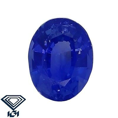 IGI certified Kashmir Sapphire untreated 0.30ct Natural Loose Gemstones.