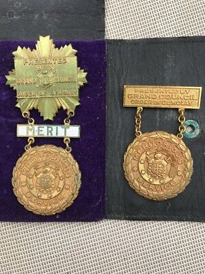 Grand Council Order of DeMolay Award Medal for Merit