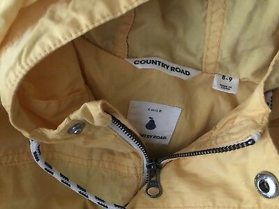 Country Road Unlined Coat Kids/children's Size 8-9. Never Worn
