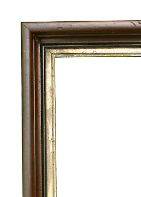 """Antique Walnut Picture Frame, C.1880, 16 1/4"""" X 22 1/4"""" Overall"""