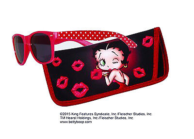 Betty Boop Sunglasses with Matching Case/Pouch