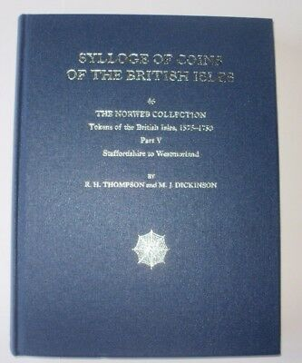 Sylloge Of Coins Of The British Isles 46 - Part 5 Staffordshire Tokens Book