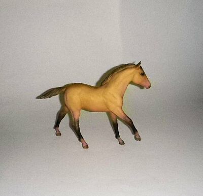 Breyer Traditional Action American Buckskin Stock Horse Foal Excellent