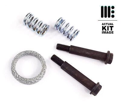 Exhaust Rear Silencer Fitting Kit Fits Toyota Yaris Bolts, Springs & Gasket