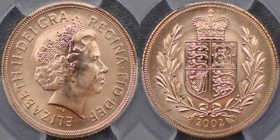 Great Britain, 2002 Sovereign - PCGS MS67