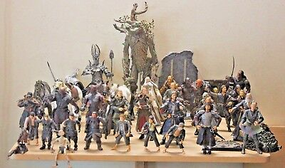 """Large Lot Lord Of The Rings Hobbit, 17"""" Treebeard, Sauron, Ect Action Figures"""