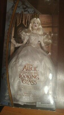 Disney Store ALICE Through The Looking Glass Movie 2016 MIRANA WHITE QUEEN DOLL