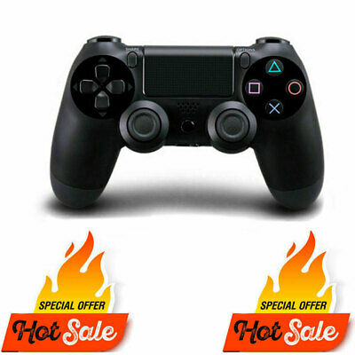 NEW Official PS4 Controller DualShock Wireless Sony playstation 4 Jet-Black v1