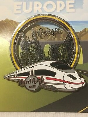 Hard Rock Cafe 2018 Cologne Transportation Series Pin Le 300 Brand New On Card